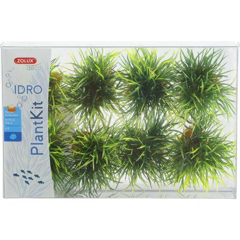 8 petits buissons. déco plant kit idro . hauteur 3 cm. ø 3.5 cm environ.