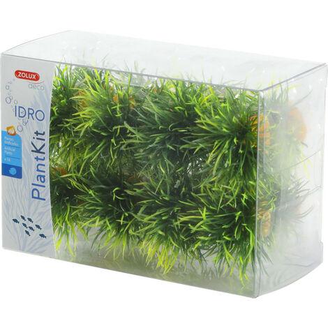 16 petits buissons. déco plant kit idro . hauteur 3 cm. ø 3.5 cm environ.