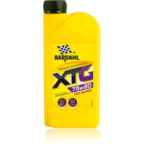 Huile 75W80 - boites et ponts - XTG EP 100% Synthèse GL-4 GL-5 MT-1 - 1L - BARDAHL