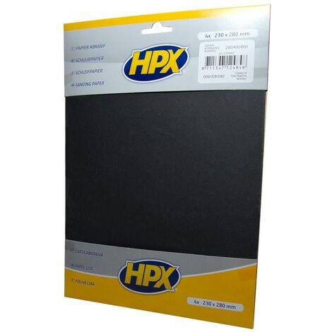 Papier abrasif à l'eau - HPX