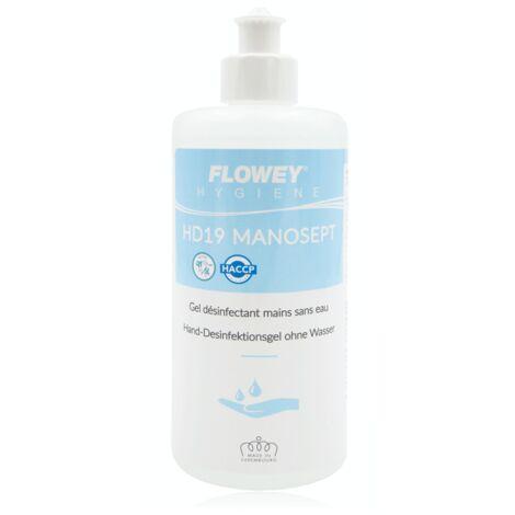 Gel désinfectant mains, hydroalcoolique, 500ml - Flowey