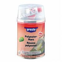 Résine polyester, mastic 1kg - Presto