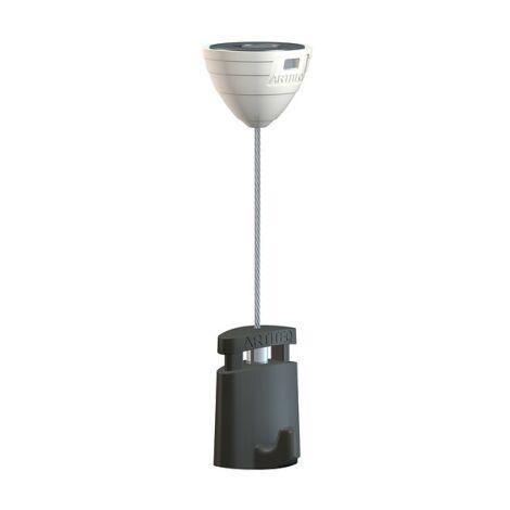 Kit Attache magnétique faux Plafond pour accrochage de tableaux sans cimaise