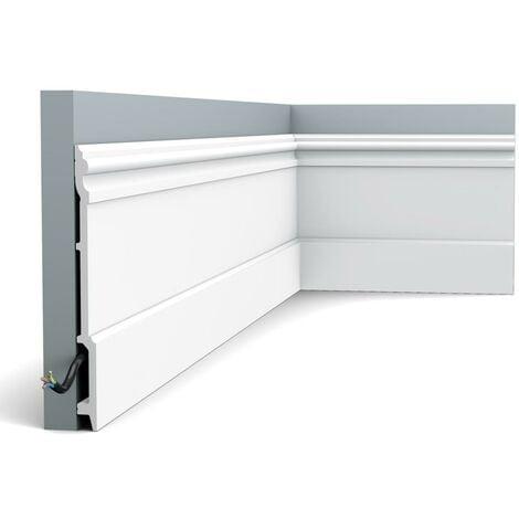 SX191 Plinthe Orac Decor - 21x2,1x200cm (h x p x L) - plinthe décorative polymère - Conditionnement : A l'unité
