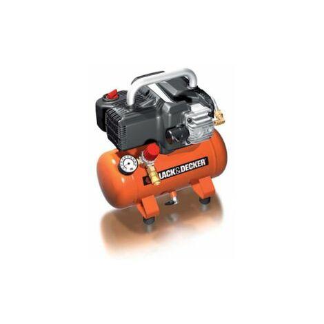 Black & Decker Druckluft Kompressor mit 6 l Tank ölfrei BD 195/6 1,1 kW 8 bar 180 l/min