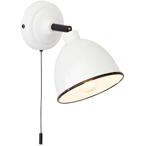 und Au/ßenbereich Hangang LED Wandleuchte//Lange Hals Wandleuchte 5W mit Kabelstecker und Bodenplatte f/ür den Innen