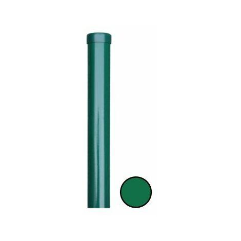 Poteau Rond Vert - Diamètre 48mm - JARDITOP - 1,70 mètre