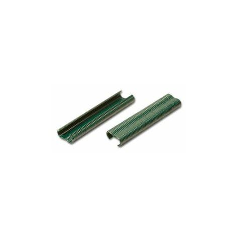 Agrafes Vertes 20mm pour Grillage - 1000 pièces