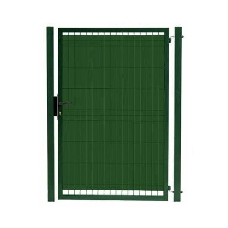 Kit Portillon Jardin Grillagé Occultable Vert - JARDIPRO + Occultation - 2 mètres