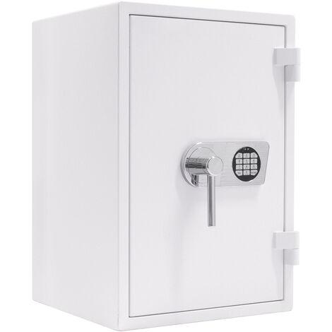 Profirst coffre-fort Artera 65 ignifuge blanc à serrure électronique