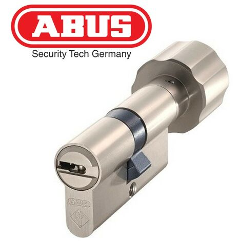 Cylindre porte Abus Bravus 2000 à 55Boutonx30 - Alu