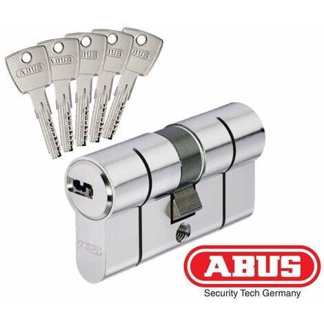 Cylindre de Sécurité ABUS D6 40x50mm - Alu