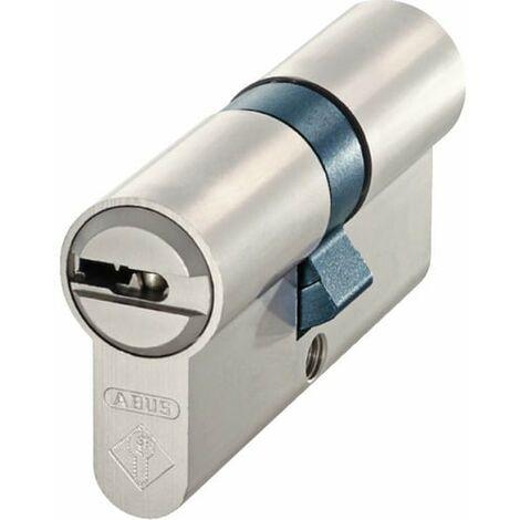 Cylindre Haute Sécurité ABUS BRAVUS 4000 40x50 - Alu