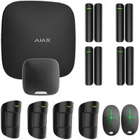 Ajax alarme StarterKit Max + sirene exterieur noir - Noir