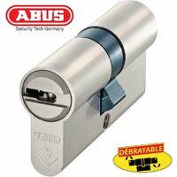 Cylindre de serrure Haute Sécurité ABUS BRAVUS 4000 40x10 - Alu