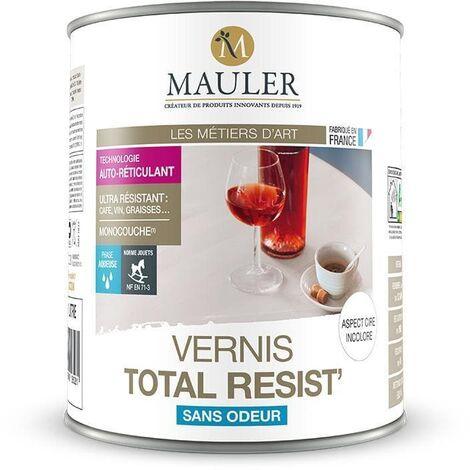 Vernis Bois Intérieur TOTAL RESIST' - MAULER 2.5 litres -