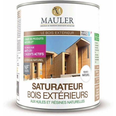 Saturateur bois extérieurs aux huiles et résines naturelles - MAULER 1 litre - Teck