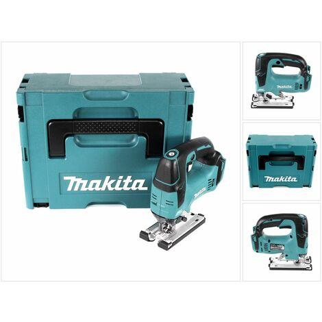 Makita DJV 182 ZJ Scie sauteuse sans fil 18V Brushless 26mm + Coffret de transport Makpac - sans Batterie, sans Chargeur