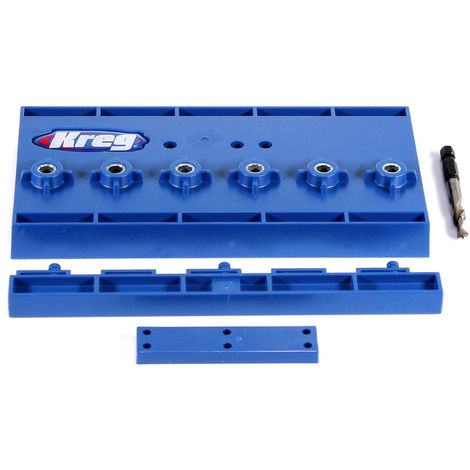 KREG Shelf Pin Jig Gabarit de perçage ( KMA3220 ) pour étagères et trous de goujon