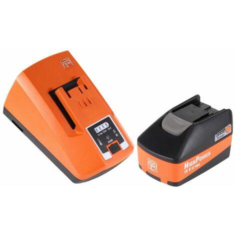 FEIN ABH 18 Perforateur-burineur sans fil 2.0J 18V SDS-plus Brushless + 1x Batterie 5,2Ah + Chargeur + Coffret de transport