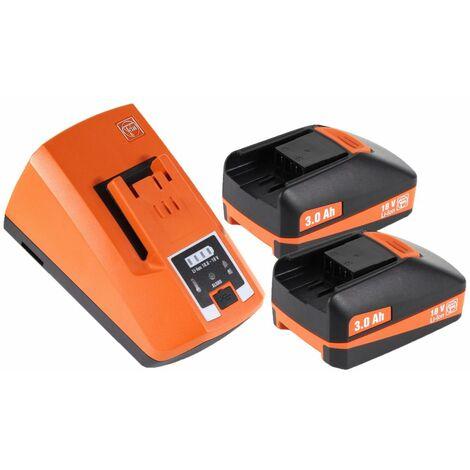 FEIN ASCM 18 QSW Perceuse visseuse sans fil 4-vitesses 18V 40Nm ( 71161264000 ) Set + Coffret de transport + 2x Batteries 3,0 Ah + Chargeur