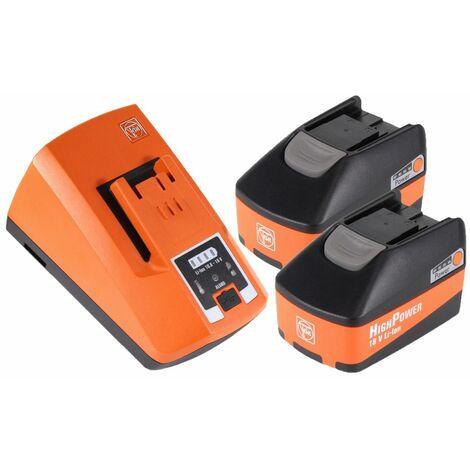 FEIN ASCM 18 QSW Perceuse visseuse sans fil 4-vitesses 18V 40Nm ( 71161264000 ) Set + Coffret de transport + 2x Batteries 5,2 Ah + Chargeur