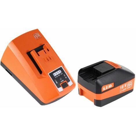 FEIN ASCM 18 QSW Perceuse visseuse sans fil 4-vitesses 18V 40Nm ( 71161264000 ) Set + Coffret de transport + 1x Batterie 6,0 Ah + Chargeur