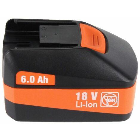 FEIN ABH 18 Perforateur-burineur sans fil 18V 2.0J SDS-plus Brushless + 1x Batterie 6,0Ah + Coffret de transport - sans chargeur