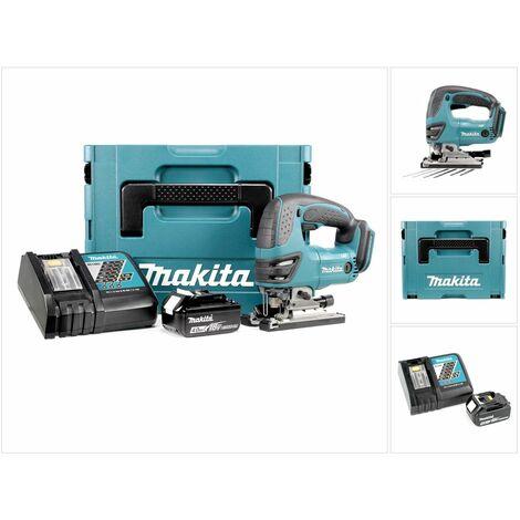 Makita DJV 180 RM1J Scie sauteuse sans fil 18V + 1x Batterie 4.0Ah + Chargeur + Makpac