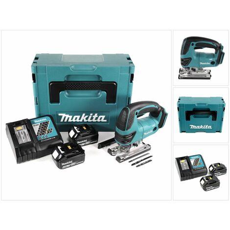 Makita DJV 180 RMJ Scie sauteuse sans fil 18V + 2x Batteries 4.0Ah + Chargeur + Makpac
