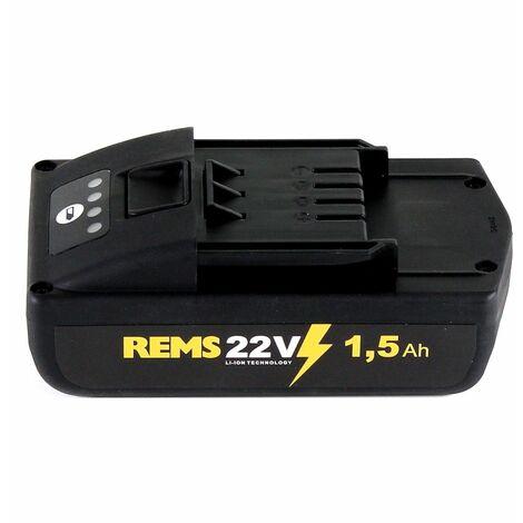 REMS Kit de Batteries 21,6V (22V max) : 2x Batteries 1,5Ah (571570 R22)