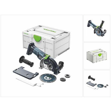 Festool DSC-AGC 18-125 FH EB-Basic Système de tronçonnage sans fil à main levée 18 V, 125 mm + Coffret - sans batterie, sans chargeur (suite du modèle 575759), (576829)
