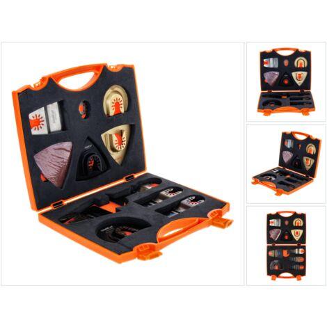 WellCut MT-20 Multi Tool 20 pièces Universal pour Outils Multifonctions avec coffret
