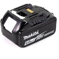 Makita DCL 180 G1 W 18 V Li-Ion Aspirateur sans fil blanc + 1 x Batterie 6,0 Ah - sans Chargeur
