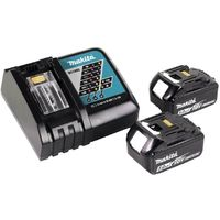 Makita DJR 183 RTJ 18V Li-ion Scie recipro sans fil + Coffret Makpac + 2x Batteries 5,0 Ah + Chargeur
