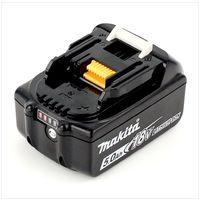 Makita BL 1850 B Li-Ion Batterie 18V 5,0 Ah ( 197280-8 / 632f15-1 ) + Visualisation LED - Successeur de 196672-8