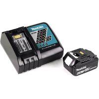 Makita DCL 180 RG1 W 18 V Li-Ion Aspirateur sans fil Blanc + 1x Batterie 6,0 Ah + Chargeur