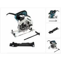 Makita HS 7611 1600 W Scie circulaire portable 190 mm + 1x Lame de scie carbure + 1x Adaptateur de rail de guidage Makita C