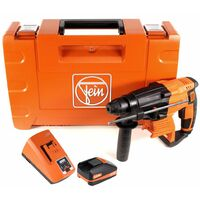 FEIN ABH 18 Perforateur-burineur sans fil 2.0J 18V SDS-plus Brushless + 1x Batterie 3,0Ah + Chargeur + Coffret de transport
