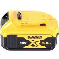 DeWalt DCS 331 ND Scie sauteuse sans fil 18 V + 1x Batterie 5,0 Ah + D-Box - sans chargeur