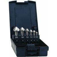 Exact DIN 335 C Fraise conique en acier HSS 90°, 6,3 - 20,5 mm, 6 pcs. ( 05527 )