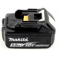 Makita BL 1850 B 18 V - 5 Ah / 5000 mAh Li-ion Batteries avec affichage LED - pack de 2