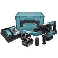 Makita DHR 243 RFJ Perforateur sans fil Brushless avec SDS-Plus + 2x Batteries 3.0 Ah + Chargeur + Makpac