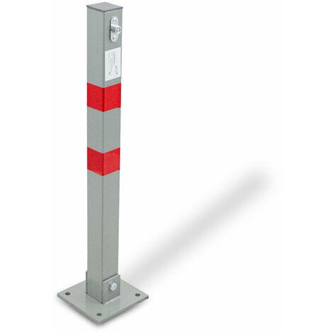 Yaheetech 4 x Personenleitsystem Abgrenzungsst/änder Gurtpfosten Absperrung Absperrst/änder Absperrpfosten Silber
