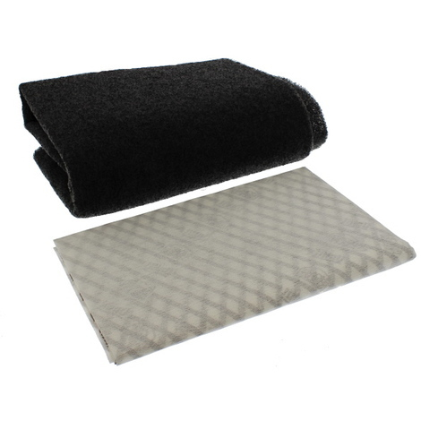 Unifit Replacement Cooker Hood Filter 570mm x 470mm Hob Universal Spare Part Grease Charcoal