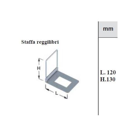 ELEMENT SYSTEM - 2 STAFFE REGGILIBRI REGOLABILI MARRONI