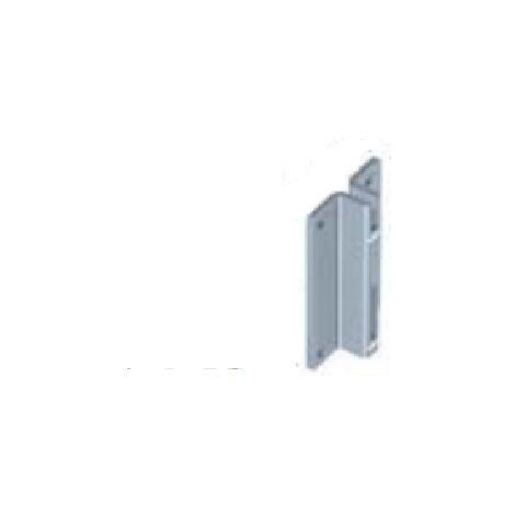 ELEMENT SYSTEM-2 SUPPORTI A DUE GANCI CON VITI E TASSELLI BIANCHI