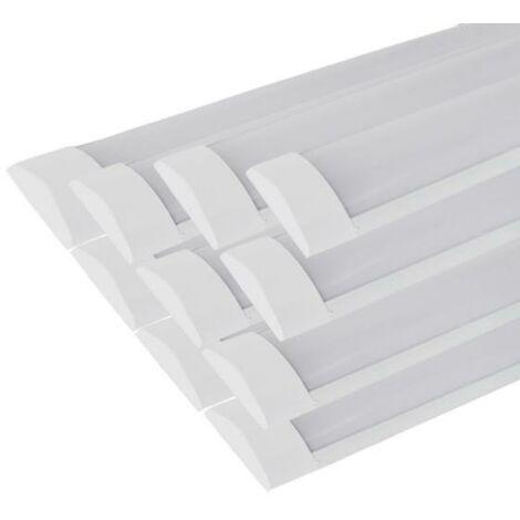 Réglette Lumineuse LED 150cm 60W (Pack de 10) - couleur eclairage : Blanc Neutre 4000K - 5500K
