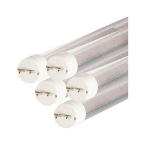 Tube Néon LED 150cm T8 24W (Pack de 5) - couleur eclairage : Blanc Froid 6000K - 8000K