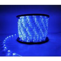 Guirlande LED 220V 50M IP44 Recoupable - Bleu - SILAMP